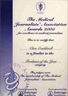 MJA-Award